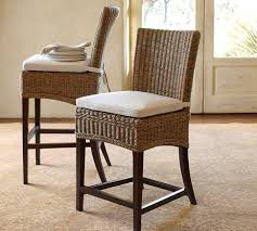Pottery Barn Wicker Barstool Pottery Barn