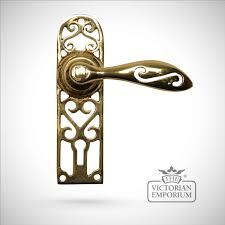 Decorative door handles and knobs