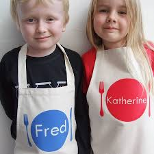 personalised children s apron by littlechook personalised childrens