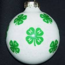 4h clover ornament easy time craft