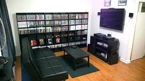 gaming setup ps4 gaming room ideas ps4 gorgeous gaming dual monitor setup bedroom