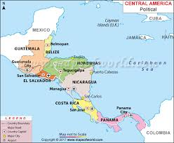 mexico america map map of mexico central america map of central america travel maps