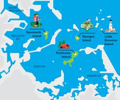 Harbor College Map The Guide Boston Harbor Islands U2013 Boston Magazine
