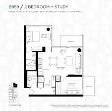 2 Bedroom Condo Floor Plans The Bond Condos For Sale 290 Adelaide West