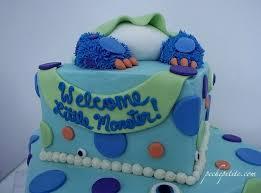 inc baby shower monsters inc baby shower cake custom ba shower cakes peche