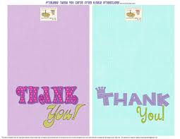 bnute productions free printable thank you cards for the