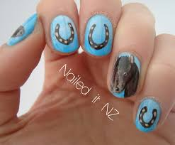 nail designs horses beautify themselves with sweet nails