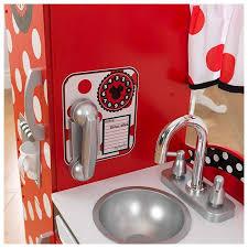 kidkraft disney jr minnie mouse vintage kitchen set kdk 53371