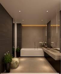 Luxury Bathroom Designs by Luxury Bathroom With No Windows Subtle Lighting Treatment