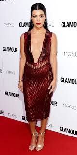 kourtney kardashian u0027s red carpet dress instyle com