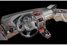 skoda yeti interior skoda octavia a5 1z 09 2009 interior dashboard trim kit dashtrim
