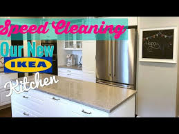 how to clean ikea black kitchen cabinets clean with me our new ikea kitchen