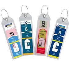 travel tags images Highwind travel 8 narrow cruise tags luggage etag holders zip seal jpeg