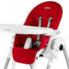 chaise haute siesta peg pérego housse chaise haute siesta et prima pappa zero3 fraise en