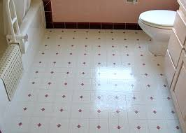 sheet vinyl flooring bathroom