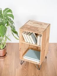 caisse de vin en bois récupéré meubles armoire coffee table