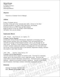 Customer Service Resume Template Free Free Resume Samples For Customer Service Sample Resumes