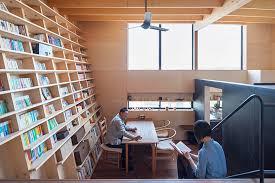 japanese home designed around a climbable bookshelf spoon tamago