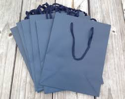 blue gift bags 20 pack navy blue kraft gift bags wedding welcome bags