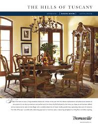 Thomasville Dining Room by Thomasville The Hills Of Tuscany Dining Room By Cadieux