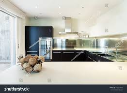 Interior Luxury by Interior Luxury Apartment Beautiful Modern Kitchen Stock Photo