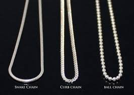 curb link necklace silver images Sterling silver 925 chain snake chain curb chain ball chain jpg