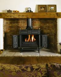 brick fireplace ideas for wood burning stoves fireplace intended