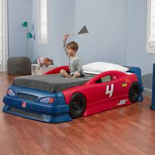 stock car convertible bed kids bed step2