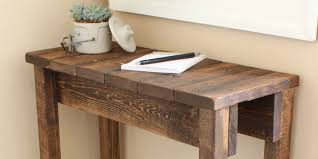 How To Build Wood End Tables by Remodelaholic Build A Pallet Table For Under 10