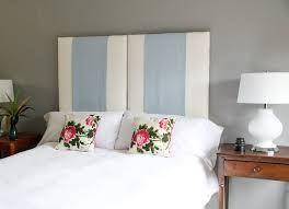 How To Make A Headboard With Fabric by Make An Upholstered Headboard You Can Change On A Whim
