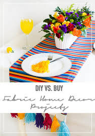 diy vs buy 7 fabric home decor projects u2022 thestylesafari