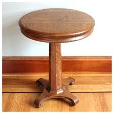 vintage pedestal side table side table pedestal side tables full size of vintage round glass