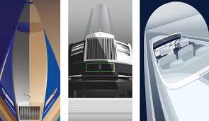 art deco inspired rolls royce cars announced with artwork art