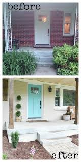 Mobile Home Exterior Makeover by Best 25 Home Exterior Makeover Ideas On Pinterest Brick