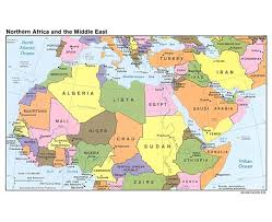 Africa Map Political maps of north africa north africa maps collection of detailed