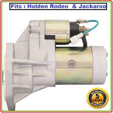 starter motor for holden rodeo tf 4wd turbo 4ja1 4jb1 t 2 8l 3 0l