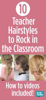 hairstyles for teachers 10 teacher hairstyles to rock in the classroom weareteachers