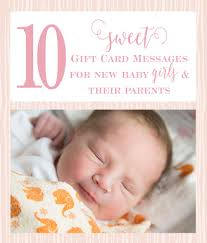 10 sweet baby gift card messages little girls pearls