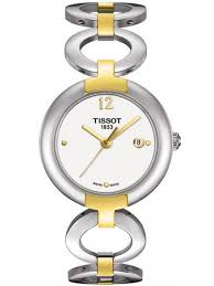 tissot ladies bracelet watches images Tissot ladies pinky bracelet watch t084 210 22 017 00 t h baker jpg