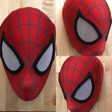 spider man face shell diy cardboard template art