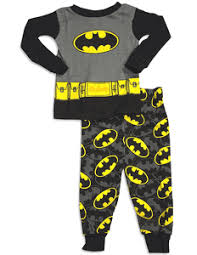 batman baby boys sleeve batman pajamas black grey infant