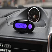 aliexpress buy voltop led car electronic clock thermometer