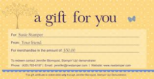 paper gift certificate template gift certificate template
