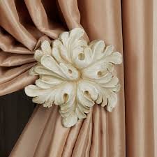 decorative rods and tiebacks touch of class