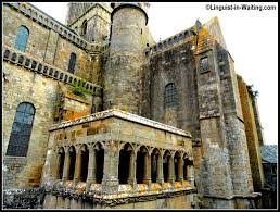 Mont Saint Michel Interior Memoirs Of A Traveling Ex Linguist Year 13 Navigating Through