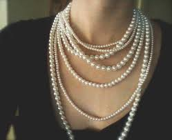 pearl necklace strand images Buy handmade necklace online 78 00 multi strand pearl necklace jpg