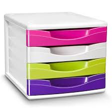 bloc de classement bureau cep cepbox gloss bloc 4 tiroirs multicolore 894 gm module de