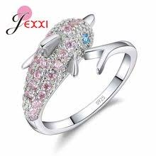 silver dolphin ring holder images Popular dolphin rings jewelry buy cheap dolphin rings jewelry lots jpg