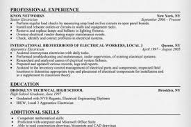 sample journeyman electrician resume related for 7 electrician