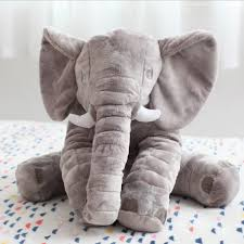 aliexpress com buy 60cm elephant soft plush toy animals dolls